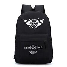 Anime Full Time Master China Glory Backpack Shoulder Bag Laptop Rucksack Satchel