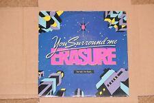 "ERASURE YOU SURROUND ME / STEPS 1989 MUTE 99 MUTE RECORDS 7"" SINGLE VINYL RECORD"