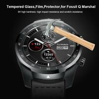 2pcs Tempered Glass Cover Film Clear Screen Protector For Fossil Q Marshal Watch
