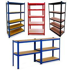 More details for 5 tier metal shelving unit storage racking shelves garage warehouse shed