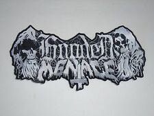 HOODED MENACE DEATH DOOM METAL EMBROIDERED BACK PATCH