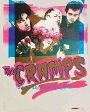 The Cramps   1980's  Concert  Tour Album Promo Poster  Punk Rock