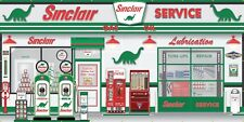 SINCLAIR DINO GAS STATION SCENE WHOLE WALL MURAL SIGN BANNER GARAGE ART 8' X 16'