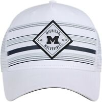 Michigan Wolverines Hat Cap Snapback Trucker Mesh Adjustable Licensed NWT