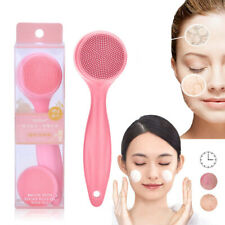 Pores Blackhead Removal Silicone Facial Cleansing Face Clean Brush Massager