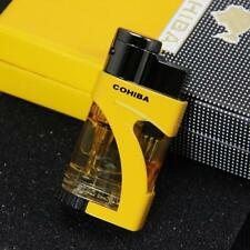 """Gorgeous Quality  Cohiba Cigar Torch Lighter W/Fuel Window """"SHIPPED FROM USA"""""""