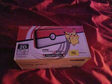 US VERSION Nintendo 2DS XL Pokemon Pokeball Special Edition Console L40