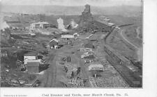 CPA ETATS UNIS D´AMERIQUE USA PENNSYLVANIA COAL BREAKER AND YEARDS NEAR MAUCH CH