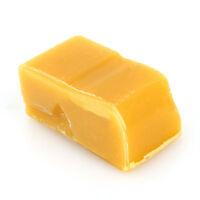 50g 100% Pure Natural Bee wax Gelb Bienenwachs Block Kerzen Kosmetik Möbelwachs