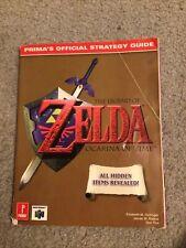 Nintendo N64 Zelda Ocarina of Time Guide strategy Book Manual Prima's