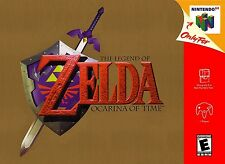 Nintendo 64 N64 The Legend of Zelda: Ocarina of Time Cartridge *Cosmetic Wear*