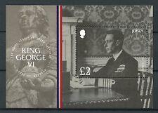 Jersey 2017 MNH King George VI House of Windsor 1v M/S Royalty Stamps