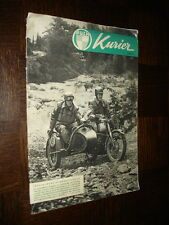 REVUE MOTO KURIER 1953 - PUCH