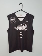 De Colección campeón Reversible brillante audaz Deportes Atléticos Baloncesto Camiseta Top en muy buen estado M