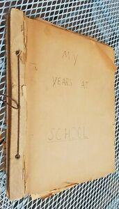 VINTAGE 1940s SCRAPBOOK Galveston Texas - High School - Photos