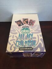 1991The Soaps All My Children Factory Sealed Trading Card Box By Star Pics