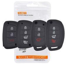 Silicone Remote Key Case Fob Cover For Hyundai i10 i20 i30 i40 i25 ix35