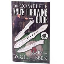 Gil HIBBEN KNIFE THROWING Guide 3rd Edition Book New Booklet 64 pages