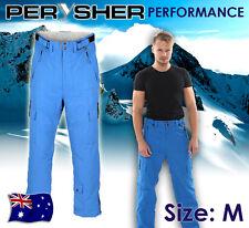 PERYSHER PERFORMANCE Ski / Snowboard Pants for Men - [Brandeis Blue] M