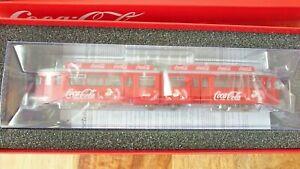"Rivarossi HR2755 HO DUEWAG ""COCA COLA"" Christmas Winter Tram NEW"