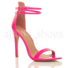 Decolté e sabot da donna cinturini, cinturini alla caviglia rosa con tacco altissimo (oltre 11 cm)