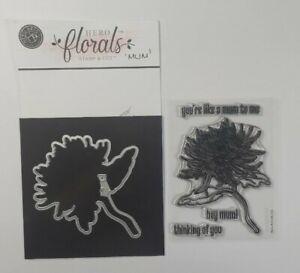 Hero Arts Florals Mum Stamps & matching die