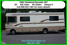 1998 Fleetwood Bounder 28T Class A Motor Home Coach Ford Chassis Gas Used RV MH