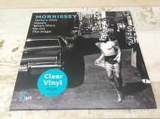 "MORRISSEY LTD CLEAR VINYL 7"" SINGLE JACKYS ONLY HAPPY WHEN SHES UP ON THE STAGE"