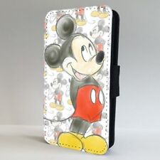 Disney Mickey Mouse Pattern Art FLIP PHONE CASE COVER for IPHONE SAMSUNG