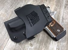 OWB PADDLE Holster Kimber Micro 9 Kydex Retention SDH