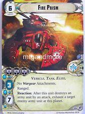 Warhammer 40000 Conquest LCG - Fire Prism  #064 - Deadly Salvage