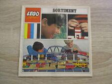 Lego 3251-ty Sortiment-Katalog von 1968, erste Ausgabe, aus Sammlung