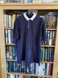 Ralph Lauren Short Sleeve Rugby Shirt Size Large.(190)