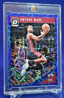 DWYANE WADE OPTIC BLUE VELOCITY PRIZM REFRACTOR BEAUTY MIAMI HEAT FUTURE HOF