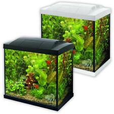 Superfish Start Tropical Aquarium Kit 30 50 70 100 150 Black White LED Fish Tank
