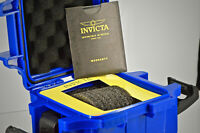 BRAND NEW Invicta ONE SLOT Deep Impact Resistant Dive Case Watch Box ROYAL BLUE