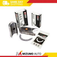 King Main Rod Bearings Fit 86-00 Honda Acura 1.6 D16A6 D16Y5 D16Y7 D16Y8 D16Z6