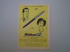 advertising Pubblicità 1960 PENNA PELIKAN P1
