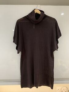 IRRESISTIBLE Brown Cowl neck long Top Size 12 NEW WITH TAGS