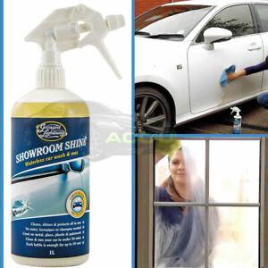 Greased Lightning Car 4x4 Bike Van Showroom Shine Waterless Wash & Wax 1L Bottle