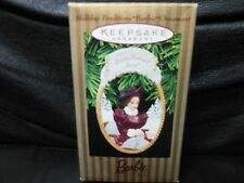 "Hallmark Keepsake ""Holiday Traditions Barbie"" 1997 Ornament NEW"