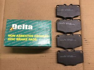 New Delta 763-D137 Organic Disc Brake Pad Pads