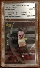Michael Jordan Upper Deck UD Ionix #2 Basketball Card 1998 - 1999 TFA 8.0