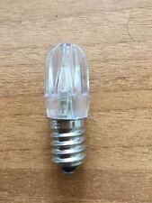 LAMPADA LED VOTIVA E14 24V AC 0,5W PER LUMINARIE CIMITERO PEZZI 10