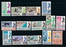 Gibilterra 1960 SG 160-73 CAT. £ 80