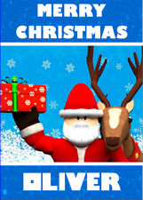 ROBLOX Personalised Christmas Card - Add your own name