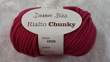 Debbie Bliss Rialto Chunky #43026 Fuchsia - Extra Fine Merino 12 Ply