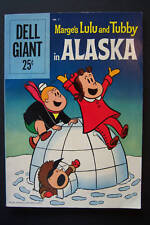 Dell Giant Marge's Lulu and Tubby in Alaska #1 High Grade 1959 Tripp art