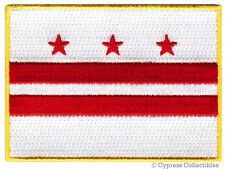 WASHINGTON DC FLAG embroidered iron-on PATCH EMBLEM new