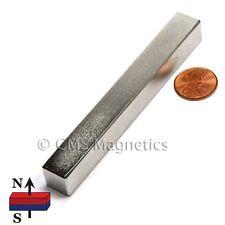 Super Strong Neodymium Magnet Block 4x12x12 Rare Earth Magnet 2 Pc